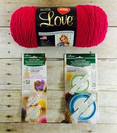 Enter to win Clover Pom Pom Makers! Giveaway compliments of AllFreeCrochet and Clover