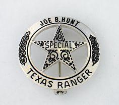 Texas Ranger Joe B. Hunt