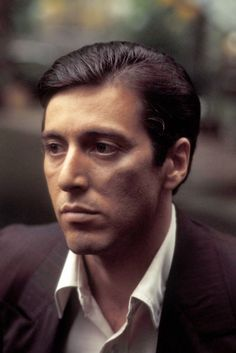 Al Pacino & Robert De Niro in The Godfather Part II (At the time, two of the finest actors ever, and to be paired up in such a great movie - and one of the greatest sequels EVER - wow). Description from pinterest.com. I searched for this on bing.com/images
