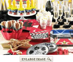 Hollywood Premiere Party Supplies | Movie Night Party Theme