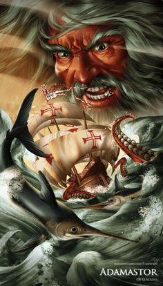History Tattoos, Digital Art Gallery, Warrior Girl, Fantasy Images, Dark Elf, Viking Tattoos, Model Ships, Horror Art, Art World