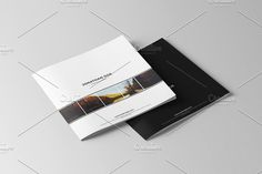 Square Portfolio Brochure by ShapShapy on @creativemarket