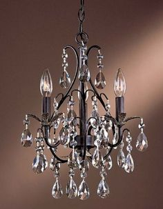 1000 ideas about bathroom chandelier on pinterest - Small crystal chandelier for bathroom ...