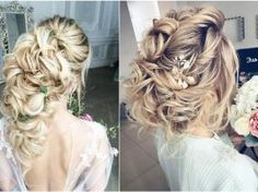 65 Long Bridesmaid Hair & Bridal Hairstyles for Wedding 2017