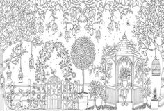 """Книга """"Чарівний сад"""" Джоанна Басфорд"""