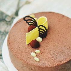 Enjoy Dessert! - Enjoy food, enjoy life! Chocolate Cake With Coffee, Coffee Cake, Chocolate Cakes, Food Cakes, Homemade Chocolate, Something Sweet, Mousse, Stevia, Panna Cotta