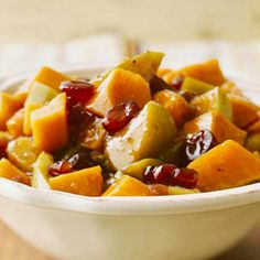 Maple-Ginger Sweet Potatoes