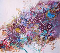 "Saatchi Online Artist: Lia Porto; Acrylic, 2013, Painting ""Cotidiano"""
