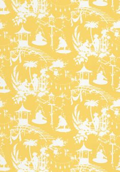 Chinoiserie Chic Introducing Thibauts South Sea