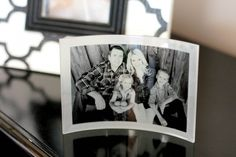 Custom Artwork on Canvas :: Shutterfly Home Decor Decor Crafts, Diy Crafts, Old Family Photos, Antique Cabinets, Curved Glass, Glass Photo, White Home Decor, Shutterfly, Holiday Cookies