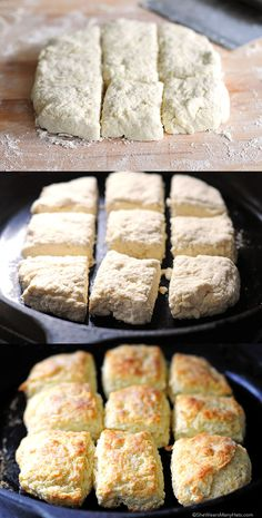 How to Make Buttermilk Biscuits shewearsmanyhats.com