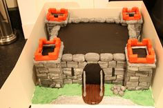 castle cake by ade the great, via Flickr