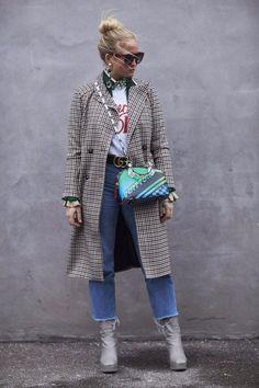The Best Street Style At Copenhagen Fashion Week AW17