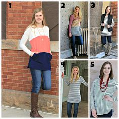 Stripes galore!  Choose your favorite for a chance to win it!  This promotion ends on Thursday March 24th!