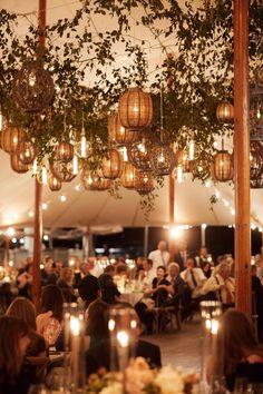 Wedding Tent Decorations, Wedding Lanterns, Marquee Wedding, Wedding Venues, Party Ceiling Decorations, Wedding Tent Lighting, Event Lighting, Dance Floor Wedding, Dream Wedding
