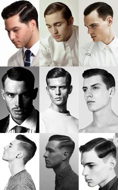 The art of parting - men's grooming and hair @Christopher Stowe Stowe Stowe Stowe Gibat These look really job friendly and I think you would look super schmexy with them