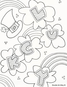 Patricks Day Coloring Pages Free And Printable Fun For School Home