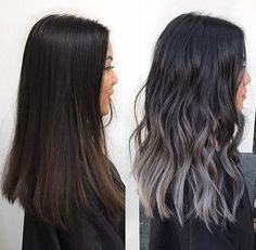 From Brunette to Dark Grey