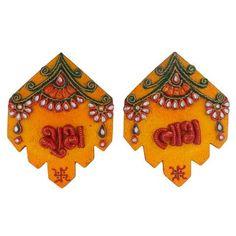 Rakhi, Clay Art, Handicraft, Home Furniture, Wall Decor, Amazing, Handmade Gifts, Unique, Popular
