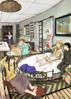 """Abe Yoshitoshi """"Haibane Renmei"""""""
