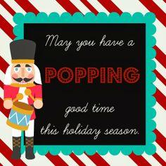Christmas Popcorn Wrapper - Reindeer Face | Reindeer face, Unique ...