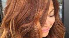 Sigh: Pumpkin Spice Hair Color Has Arrived   StyleCaster