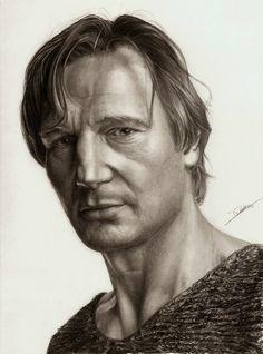Liam Neeson by ~AmBr0 on deviantART