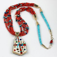 Boyd Tsosie - 14KT Gold Necklace