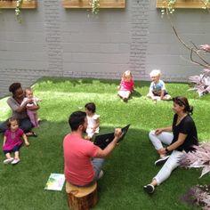 Book Reading #normanandjulesbackyard