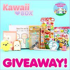 Kawaii Box Giveaway  Checkout the give away at http://www.supercutekawaii.com/2015/11/kawaii-box-giveaway-3/#comment-80510
