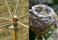 Kreatives aus Weiden - Ein Schweizer Garten