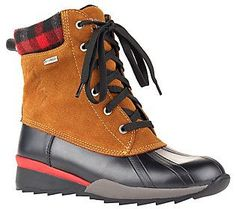Cougar Waterproof Cold Weather Suede and RubberBoots - Totem