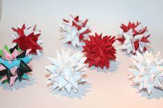 Sådan fletter du en stor julestjerne af stjernestrimler