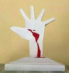 Mão Sangrenta  Memorial da América Latina - São Paulo (SP)