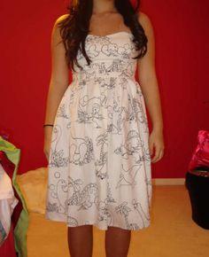 Dinosaur Dress...amazing!  As an elementary teacher... I would 100% wear this dress!
