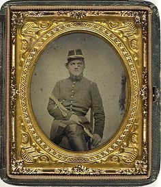(c. 1861-1865) Confederate Staff Officer Andrew B. Martin of Tennessee