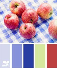 color fresh - what a great vintage palette