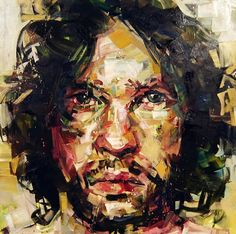 65 Contemporary Paintings By Canadian Artist Andrew Salgado Abstract Portrait, Portrait Art, Face Art, Figure Painting, Contemporary Paintings, Art Techniques, Figurative Art, Traditional Art, Painting Inspiration
