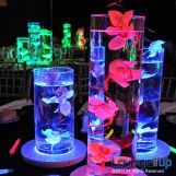 Centerpiece and lighting in one.