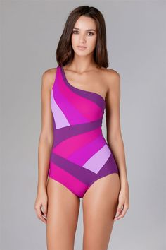 Karla Colletto's Ombre Asymmetrical One Piece | Everything But Water