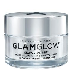 Women's Glamglow Glowstarter Mega Illuminating Moisturizer (£38) ❤ liked on Polyvore featuring beauty products, skincare, face care, face moisturizers, makeup, beauty, cosmetics, fillers, nude glow and face moisturizer