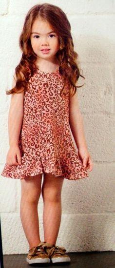 Vestido de onça da Joy, disponível na loja Mima