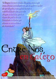 [Dirección Xeral de Política Lingüística da Xunta de Galicia, 2000] Movies, Movie Posters, Poem, Teaching, Nail, Texts, Coat Of Arms, Film Poster, Films