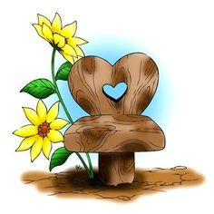 Fairy Chair Digi Stamp in Digital images