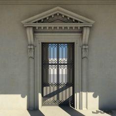 villa capra la rotonda 3d model