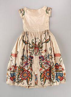 Robe de Style  by Jeanne Lanvin, 1922. Image c.  The Metropolitan Museum of Art