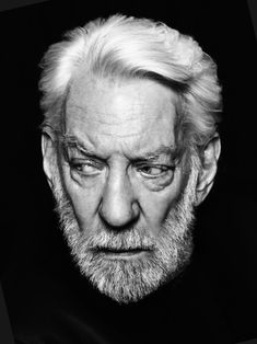 "keyframedaily: "" Happy 80th, Donald Sutherland. """