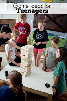 Game Ideas for Teenagers Youth Group Activities, Youth Games, Games For Teens, Activities For Kids, Diy Crafts How To Make, Do It Yourself Crafts, Fun Crafts, Crafts For Kids, Diy Games