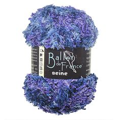 Fio Ballet de France Seine - 100g  Agulhas Recomendadas de tricô 7 a 10 e Crochê 6 a 7.  Composição: 100% Poliester.  Peso Liquido 100g = 42m