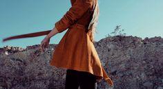 Vintage Coat | Robert Meshekoff | Desert Fashion | Monica Miyagi